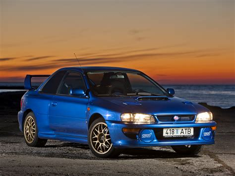 subaru 22b wallpaper wallpapers subaru 1998 impreza 22b sti lhd gc8e2sd blue