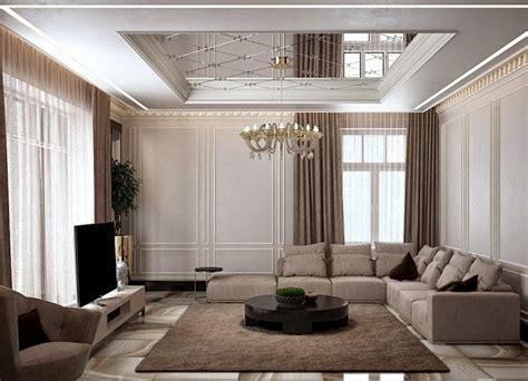 Modern Ceiling Designs For Living Room Home Styling