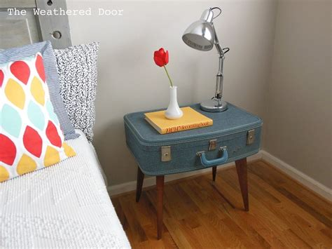 diy furniture ideas turning  suitcases  fancy