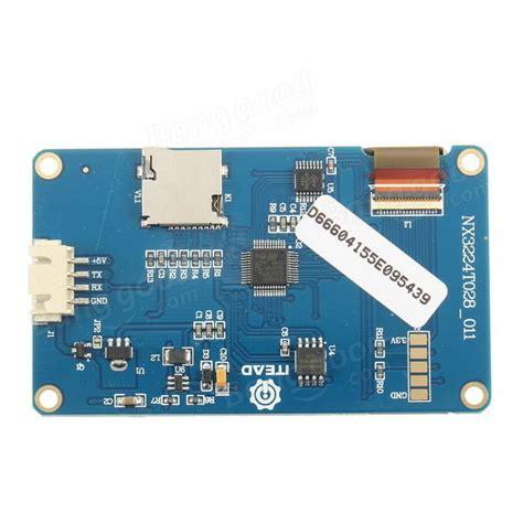 Nextion 2 8 Hmi Uart Lcd Tft Touchscreen 320x240px For Arduino Rasp 2 8 inch nextion hmi intelligent smart usart uart serie
