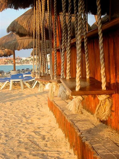 playa del carmen swing bar awww playa i love your beaches your swings your booming