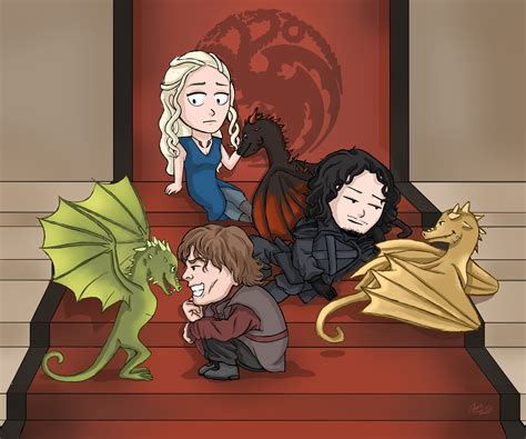 three headed of thrones three headed by courtneyluv7 on deviantart