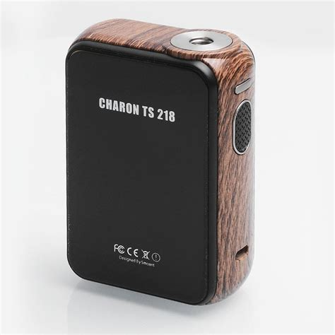 Mod Smoant Charon 218watt Authentic authentic smoant charon ts 218 touch screen wood grain tc vw box mod