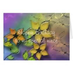 happy birthday niece cards happy birthday niece card zazzle