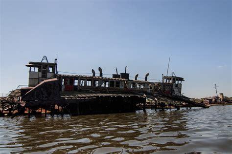 staten island boat graveyard skeleton photo of the abandoned staten island boat graveyard