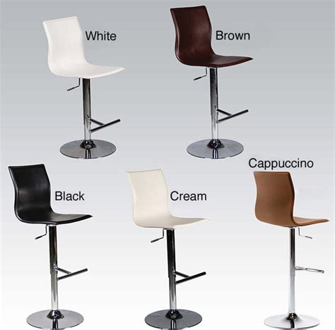 Adjustable Kitchen Counter Stools by Adjustable Height Swivel Stool Contemporary Bar Stools