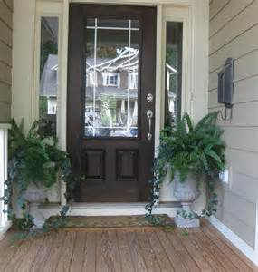 Front Door Trees Embellish Special Occasions Fall Exterior