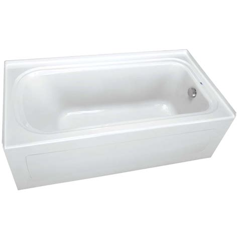 proflo bathtub proflo pfs7236rskwh white 72 quot x 36 quot alcove soaking bath