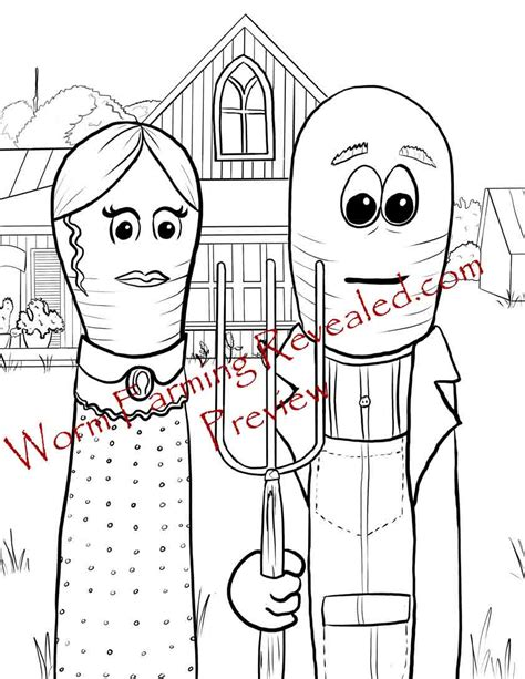 coloring book for goths worm coloring pages