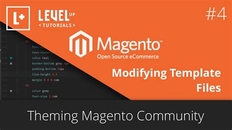 theming magento community 4 modifying template files