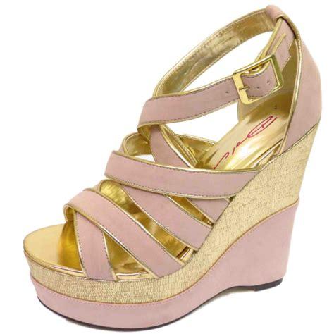 dolcis wedges platform sandals peep toe