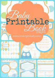 Baby Shower Booklet Template by 25 Best Ideas About Baby Book Pages On Baby