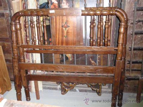 cama antigua de madera cabeceros antiguos de madera restaurados comprar camas