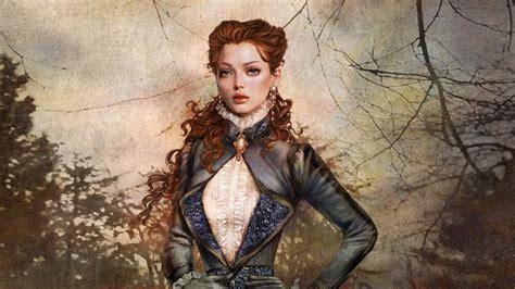 girl portrait wallpaper fantasy girl portrait wallpaper 1920x1080 full hd