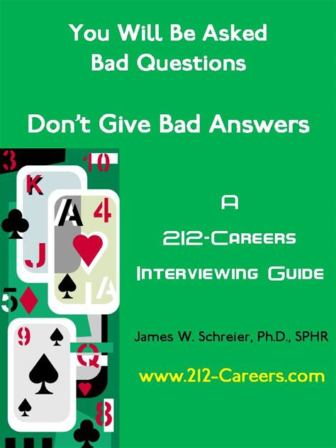 Bad Or Question 212 Careers Interviewing