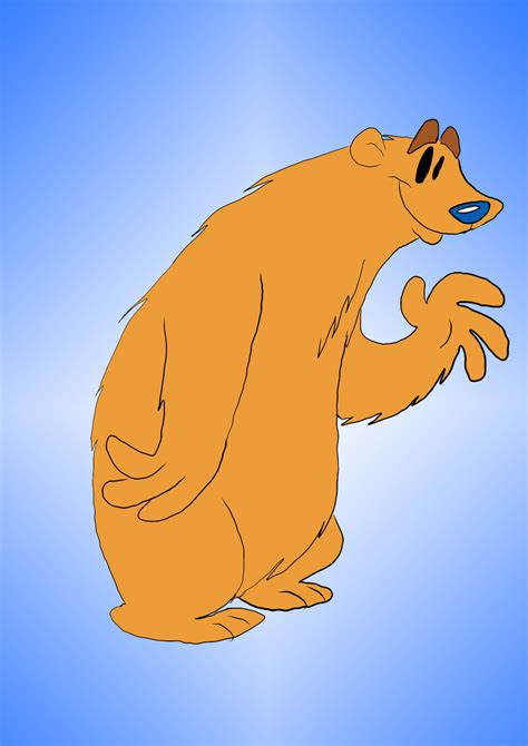 bear in the big blue house bear from the big blue house by waggonercartoons on deviantart