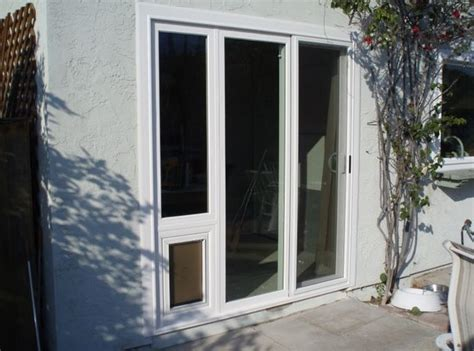sliding glass door patio pet doors or panel pet doors
