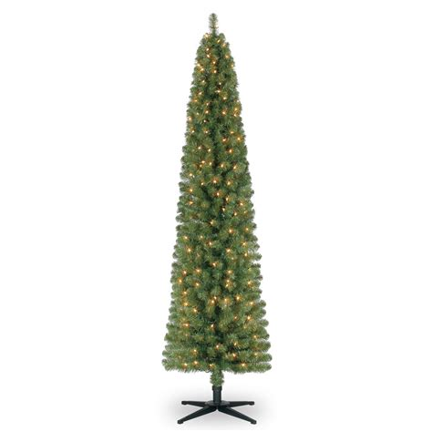 rite aide xmas trees 7 ft pre lit pencil artificial tree only 39 99 shipped reg 100 more at