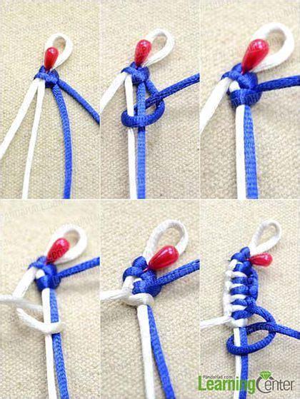pulsera de nudos paso a paso pulsera de nudo plano paso a paso pulseras diy y