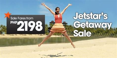 jetstar airways airfare sale manila  singapore osaka