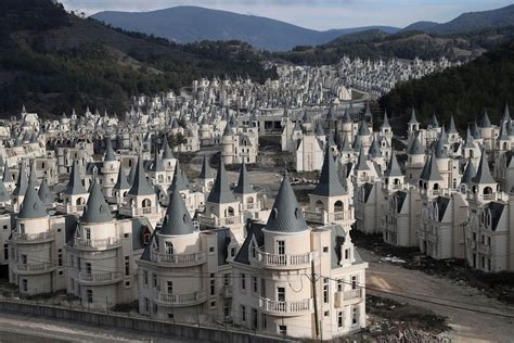 turkey luxury housing development burj al babas sits