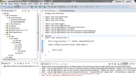 spring tutorial using netbeans tutorial spring java web crear una vista y su