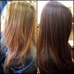 best summer highlights for auburn hair summer to fall highlights hair auburn highlights tina