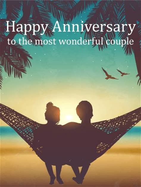Wedding Anniversary Wishes To A Wonderful by 1000 Ideas About Anniversary Wishes For On