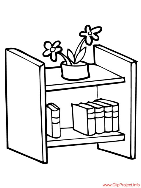 coloring page bookshelf school coloring pages bookshelf