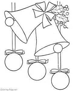 christmas coloring pages decorations