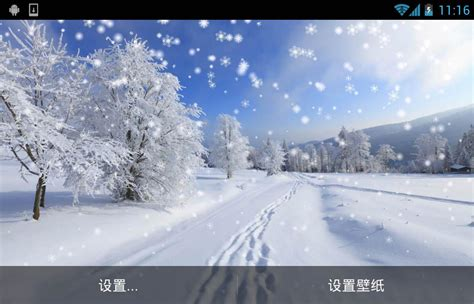 google winter wallpaper winter snow live wallpaper android apps on google play