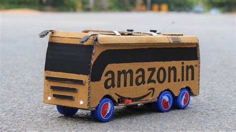 cardboard bus youtube