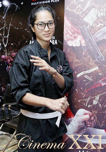 artis film alif lam mim prisia nasution ingin lakoni adegan laga tanpa stuntman di
