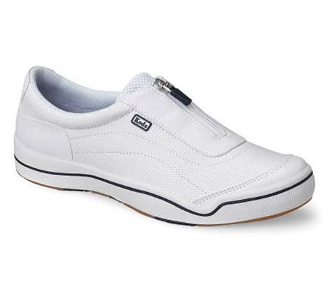 keds leather hton sport zipper sneaker page 1 qvc