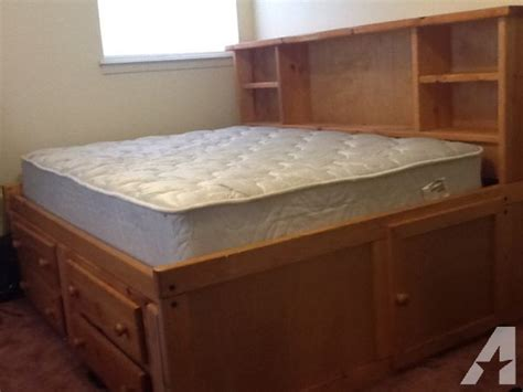 full size bed sale captains full size bed with mattress amarillo tx for sale in amarillo texas classified