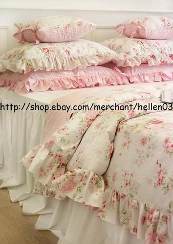 shabby chic bedding ebay comforter cover king and comforter on