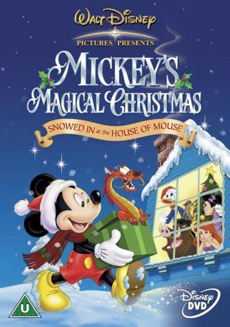 Disney Magical Fireplace Dvd by Mickey S Magical Snowed In At The House Of