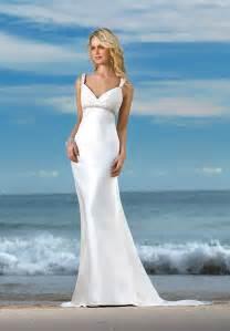 Beach wedding dresses fashion belief