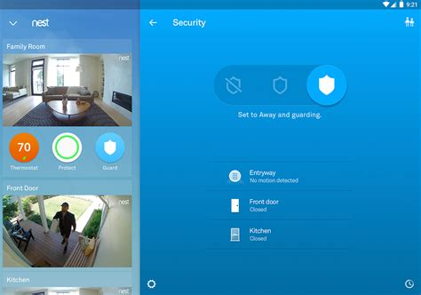 nest app for android nest updates its app to support the just released nest secure alarm system