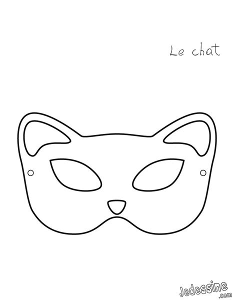 cat mask template masks how to cat mask