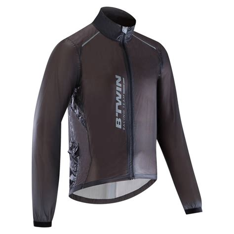 rainproof cycling jacket 900 ultralight rainproof road cycling jacket decathlon
