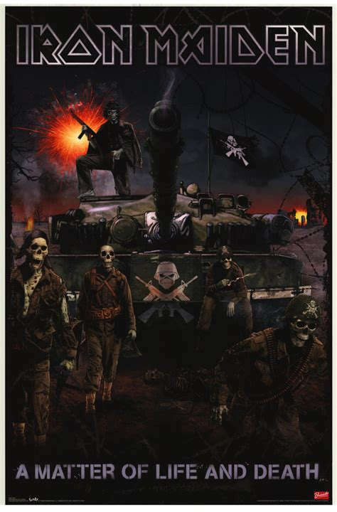 iron maiden a matter of and iron maiden matter of and posters from