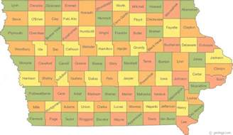 state map counties why do iowa and new hshire so many tiny counties