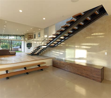 Cheap Kitchen Remodeling Ideas mill valley contemporary split level staircase