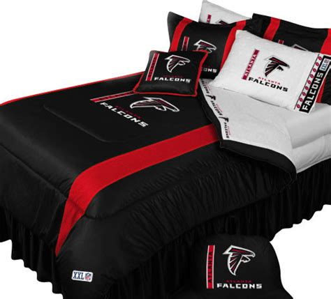 nfl atlanta falcons football queen full bed comforter set