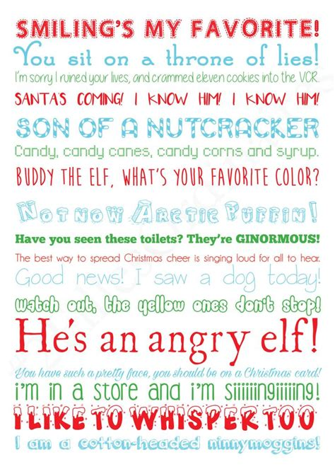 images  christmas classics  pinterest buddy  elf quotes chevy chase