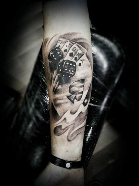 tattoo designs cards and dice cards and dice in 3d tattooed tattoos