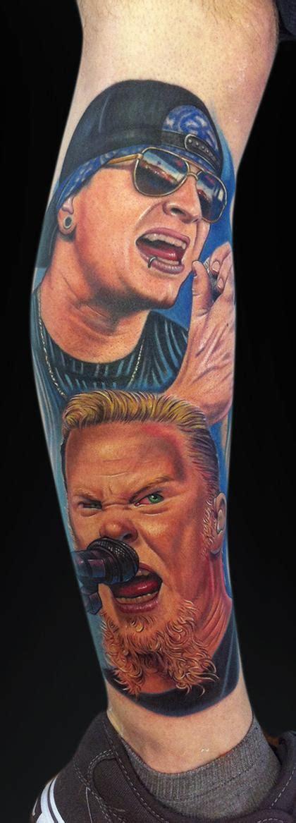 m shadows tattoos hetfield m shadows by mike devries tattoos