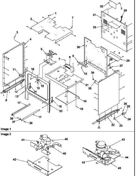 Cupboard Parts - amana arg7600ll gas range timer stove clocks and