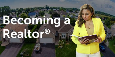 become a realtor becoming a realtor